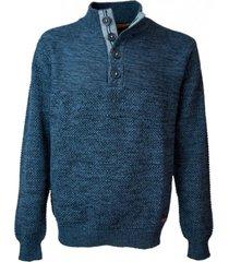 sweater con botones potros