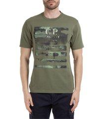 c.p. company chrome lens pocket t-shirt