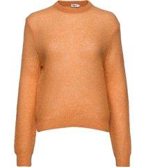heather sweater gebreide trui oranje filippa k