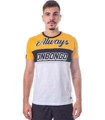 camiseta onbongo deluxe endless amarelo - masculino