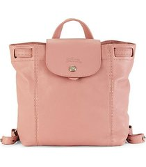 extra small le pliage leather backpack