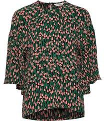 sorina tuulahdus shirt blouses short-sleeved grön marimekko