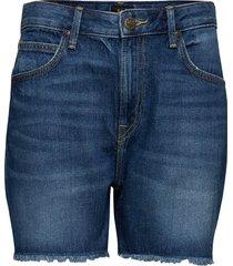 boyfriend short shorts denim shorts blå lee jeans