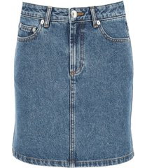 a.p.c. standard denim mini skirt