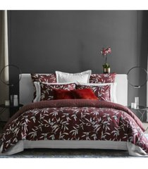 frette at home chinoiserie queen duvet cover bedding