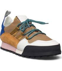 womens shoes låga sneakers multi/mönstrad closed