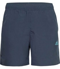 short-length colorblock 3-stripes swim shorts badshorts blå adidas performance