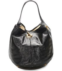 yves saint laurent pre-owned capri handbag - black