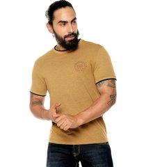 camiseta amarillo-café americanino