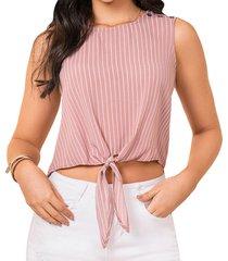 blusa aby rosa para mujer croydon
