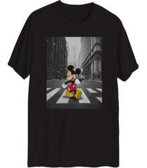 hybrid men's mickey mouse nyc city walk t-shirt