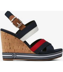 sandalett tommy essential high wedge