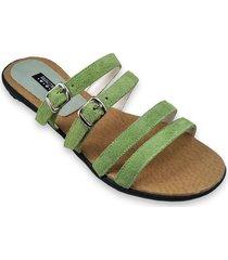 sandalia verde ragazzini