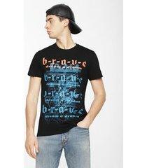 camiseta diesel t-diego-wc preto