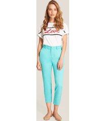 pantalón azul aguamarina patprimo