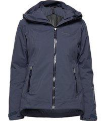 stranda ins hybrid w jkt outerwear sport jackets blauw bergans