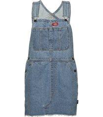 hopewell denim bb dresses jeans dresses blå dickies