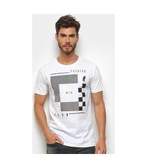 camiseta daytan fashion club básica masculina