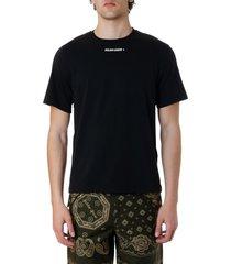 golden goose black ggdb cotton t-shirt