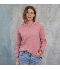 sundance catalog women's sydney hoodie in red small