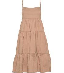 elena dress knälång klänning rosa twist & tango
