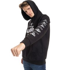 buzo negro adidas originals bodega hoodie