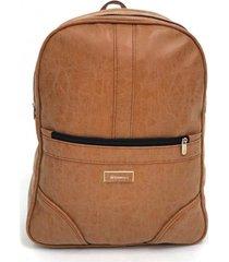 mochila marrón boerss antirrobo
