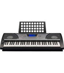 combo piano organeta midi in-out con estuche y base pressler pr931c