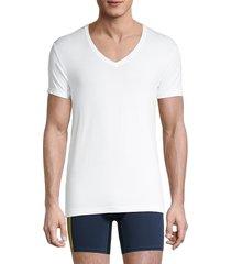 2(x)ist men's slim-fit v-neck t-shirt - white - size xl