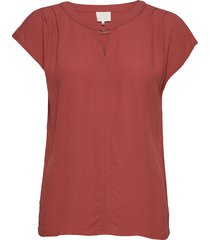 ariana top blouses short-sleeved rood minus