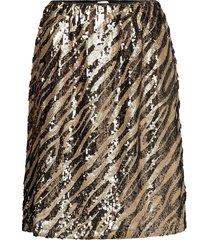 deborsz skirt kort kjol guld saint tropez