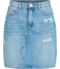 jeanskjol virosabell hw short denim skirt