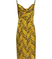 abito tigrato (giallo) - bodyflirt boutique