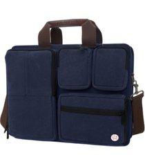 manhattan portage waxed hewes briefcase