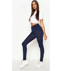 basic jersey leggings, marineblauw