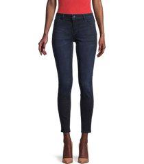 dl1961 women's emma low-rise skinny jeans - nicholson - size 28 (4-6)