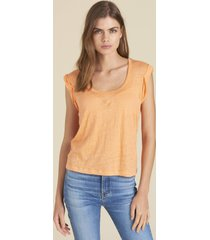 tangerine arion muscle tee