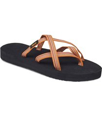 w olowahu shoes summer shoes flat sandals svart teva