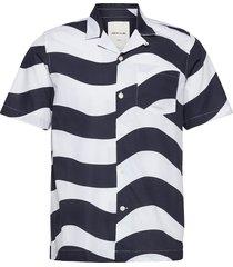 brandon shirt kortärmad skjorta vit wood wood