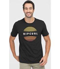 camiseta rip curl airwaves preta