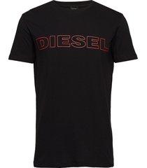umlt-jake t-shirt t-shirts short-sleeved svart diesel men