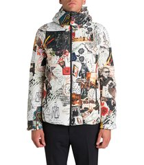 fendi karl kollage reversible jacket