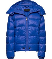 jian jacket gevoerd jack blauw diesel