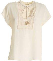 true royal - georgette blouse