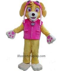 paw patrol skye adult mascot costume dog fancy suit cartoon character