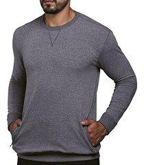 blusão moletom lupo slim fit masculina