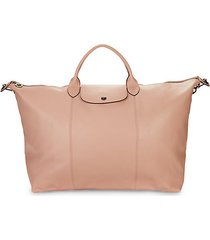 le pliage leather collection foldable travel bag