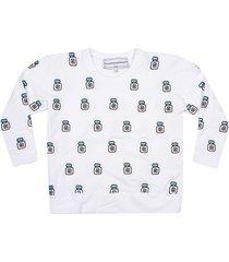 michaela buerger all-over motif sweatshirt