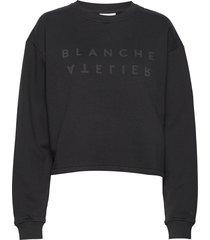 alba sweater sweat-shirt trui zwart blanche