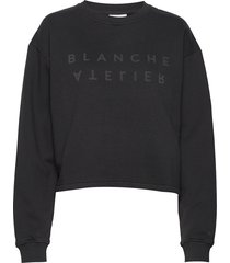 alba sweater sweat-shirt trui zwart blanche